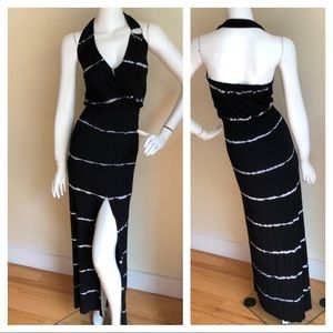 NEW Young Fabulous and Broke halter maxi dress